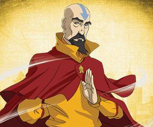 avatar, tenzin, and lok image
