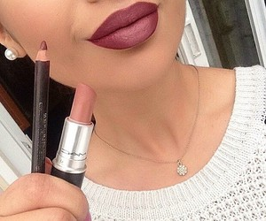 lipstick, lips, and mac image