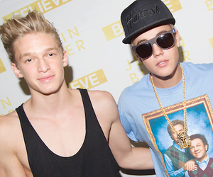 justin bieber, cody simpson, and Hot image
