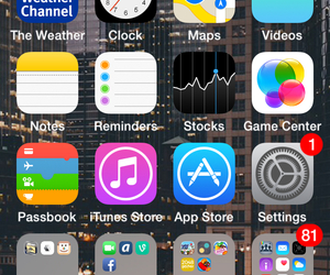 homepage, iphone, and apps image