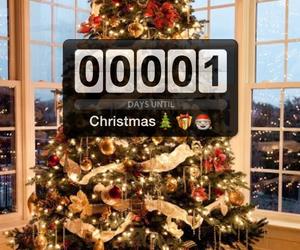 christmas, christmas tree, and excited image
