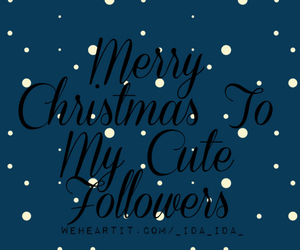 christmas, followers, and merry image
