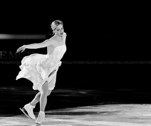 figure skating, ice, and skating image