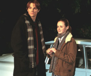 gilmore girls, dean, and rory image