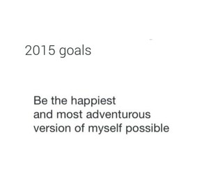 new year, 2015, and goals image