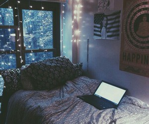bedroom, tumblr, and grunge image