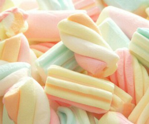 candy, marshmallow, and sweet image