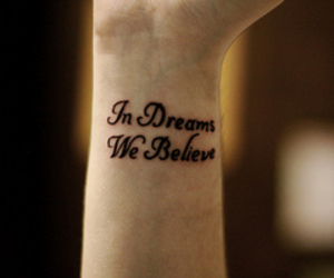 tattoo, Dream, and believe image