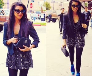 kourtney kardashian and fashion image