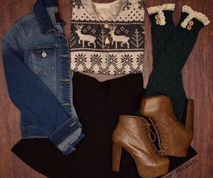 black, blouse, and christmas image