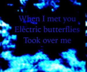 blue, boyfriend, and butterflies image
