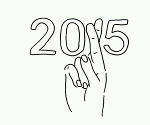 2015 and new year image