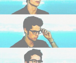 boy, glasses, and teen wolf image