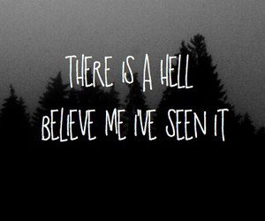 hell, quotes, and bring me the horizon image