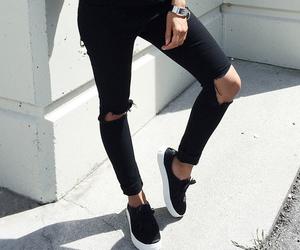 black, fashion, and photography image