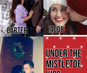 the mistletoe, magcon boys imagine, and carter reynolds imagine image