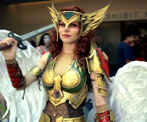cosplay, dc comics, and hawkgirl image