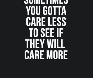 care, sometimes, and quote image