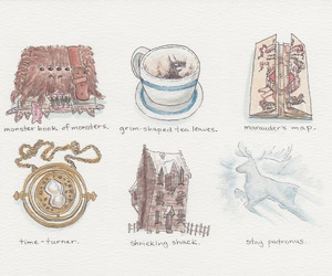 harry potter, illustration, and the prisoner of azkaban image
