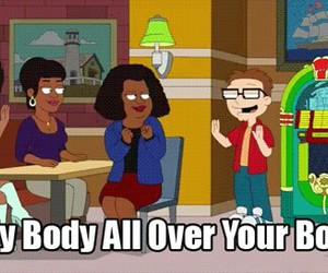 american dad, bodies, and funny image