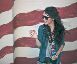 cigarette, wall, and cute image