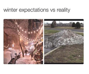 snow, winter, and reality image