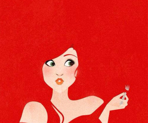 disney, ariel, and red image