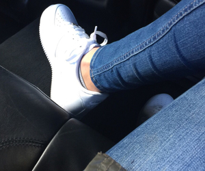 babes, fresh, and new shoes image