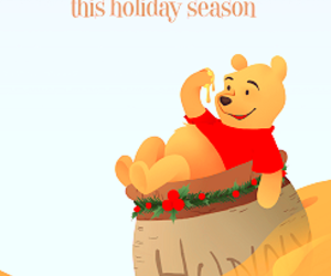 winnie the pooh and christmas image