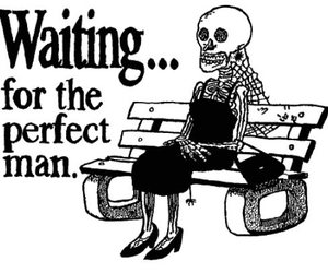 waiting, man, and perfect image