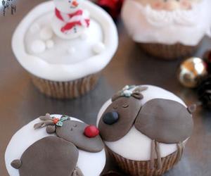 christmas, dessert, and holidays image