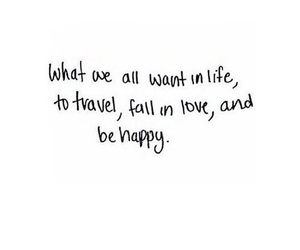 fall in love, happy, and quotes image