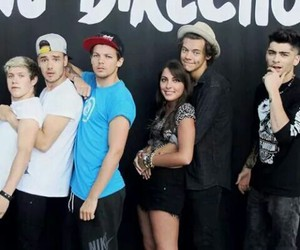 fan girl and 1d image