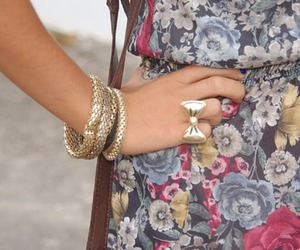 fashion, girl, and bracelets image
