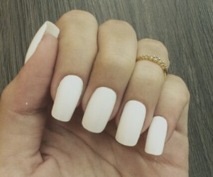 fashion, nail, and white image