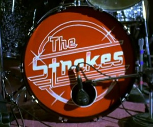 the strokes, drums, and music image
