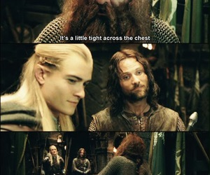 aragorn, Legolas, and lord of the rings image