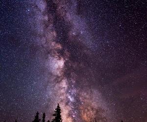 beautiful, galaxy, and landscape image