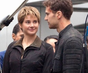 four, Shailene Woodley, and insurgent image