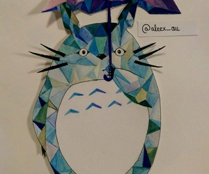draw and totoro image