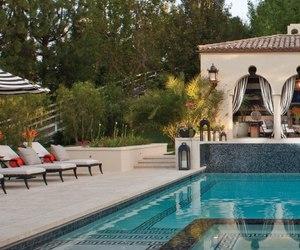 house, pool, and home. image