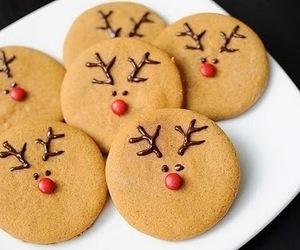 animals, christmas, and Cookies image