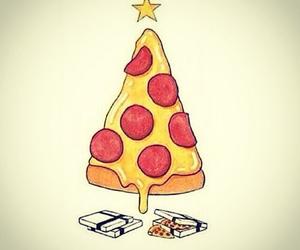 christmas, christmas tree, and food image