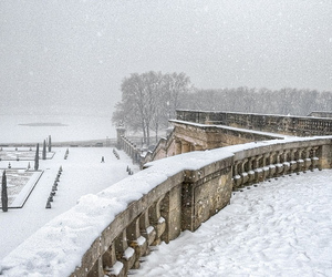 winter and france image