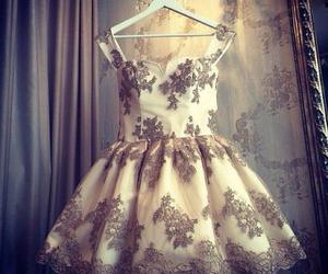 dress, beautiful, and white image