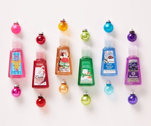 christmas, bath and body works, and colorful image