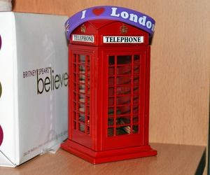 london, money, and phone booth image