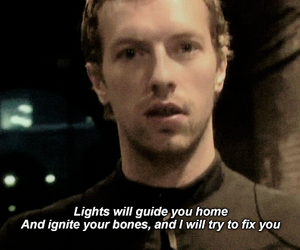 coldplay and fix you image