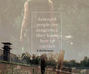 damaged, dangerous, and the walking dead image
