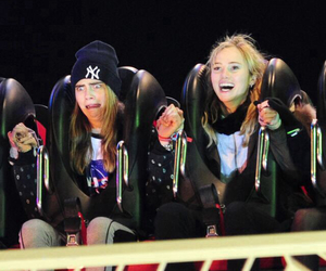 cara, funny, and Roller Coaster image